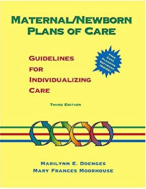 Maternal/Newborn Plans of Care: Guidelines for Individualizing Care 9780803603202
