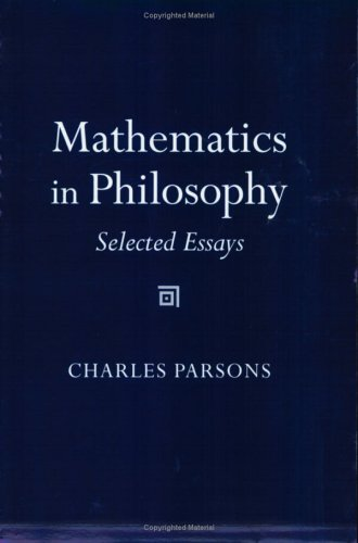 Mathematics in Philosophy: Selected Essays 9780801489815