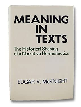 Meaning in Texts 9780800605186