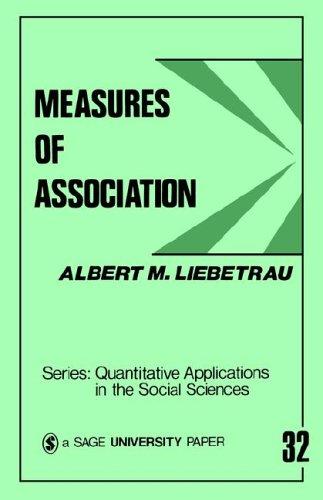 Measures of Association 9780803919747