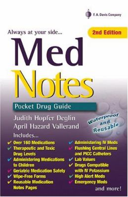 Med Notes: Pocket Drug Guide 9780803615311