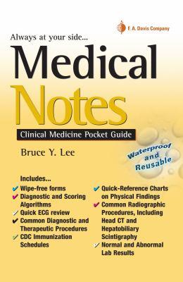 Medical Notes: Clinical Medicine Pocket Guide 9780803617469