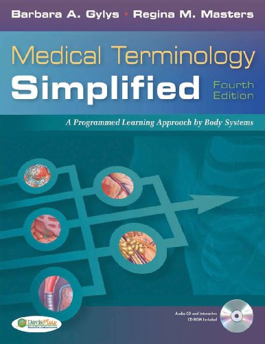 Medical Terminology Simplified: A Programmed Learning Approach by Body System [With Termplus 3.0 and CD (Audio)] 9780803623026