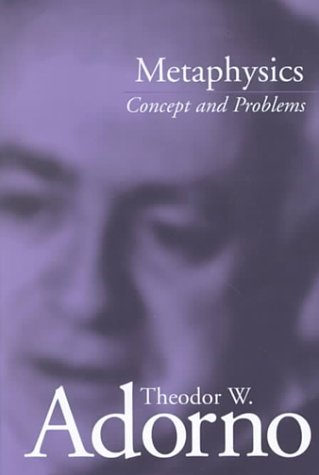 Metaphysics: Concept and Problems 9780804742474