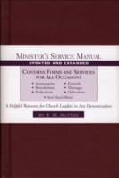 Minister's Service Manual 9780801091667