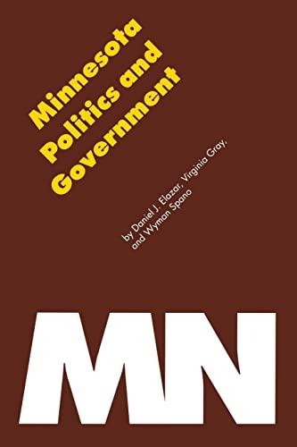 Minnesota Politics and Government 9780803267145