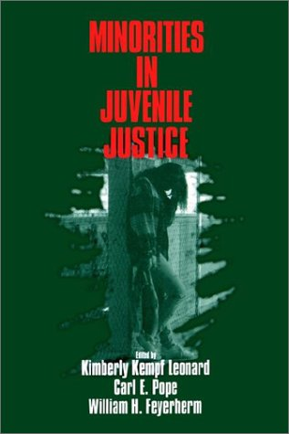 Minorities in Juvenile Justice 9780803972650
