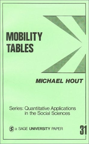 Mobility Tables 9780803920569