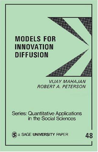 Models for Innovation Diffusion 9780803921368