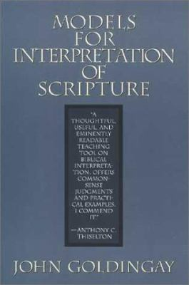 Models for Interpretation of Scripture 9780802801456