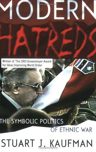 Modern Hatreds: The Symbolic Politics of Ethnic War 9780801487361