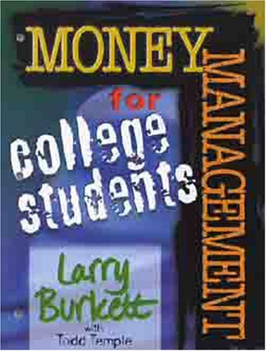 Money Matters Workbook for College Students 9780802463470