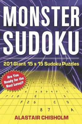 Monster Sudoku: 201 Giant 15 X 15 Sudoku Puzzles 9780802715425