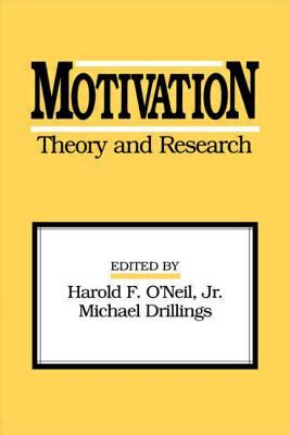 Motivation: Theory and Research 9780805812879