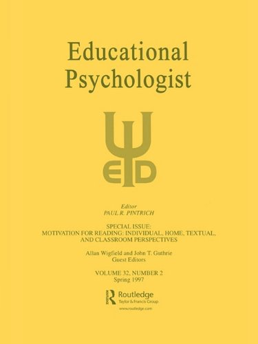 Motivation for Reading: Individual, Home, Textual, and Classroom Perspectives: A Special Issue of Educational Psychologist 9780805898729