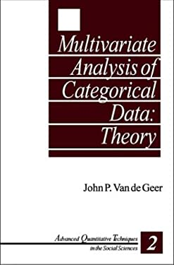 Multivariate Analysis of Categorical Data: Theory 9780803945654