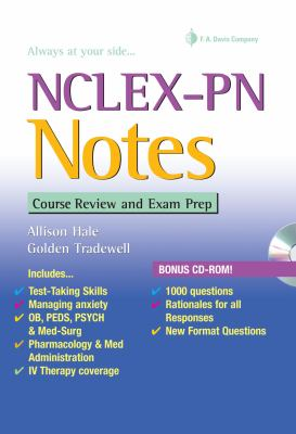 NCLEX-PN Notes: Course Review and Exam Prep 9780803621237