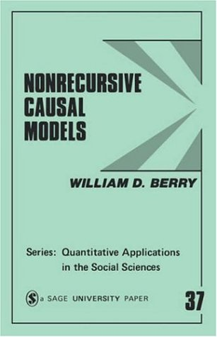 Nonrecursive Causal Models 9780803922655