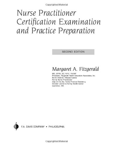 Nurse Practitioner Certification Examination and Practice Preparation 9780803611597