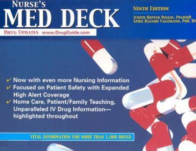 Nurse's Med Deck 9780803611559