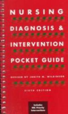 Nursing Diagnosis and Intervention Pocket Guide 9780805393651