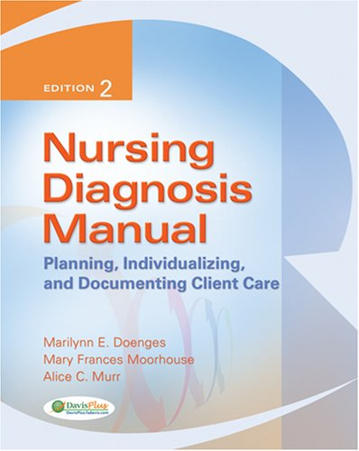 Nursing Diagonsis Manual: Planning, Individualizing, and Documenting Client Care 9780803618596