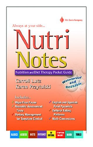 Nutrinotes: Nutrition and Diet Therapy Pocket Guide 9780803611146