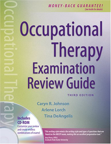 Occupational Therapy Examination Review Guide [With CDROM] 9780803614819