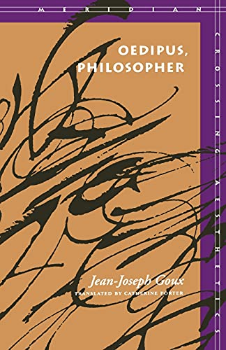 Oedipus, Philosopher 9780804721714