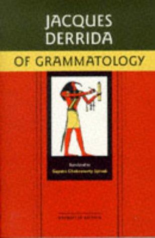 Of Grammatology 9780801858307