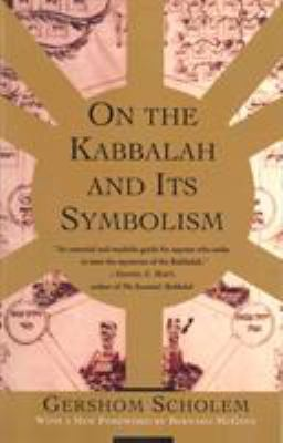 On the Kabbalah & Its Symbolism 9780805210514
