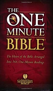 One Minute Bible-Hcsb: The Heart of the Bible Arranged Into 366 One-Minute Readings 9780805428513