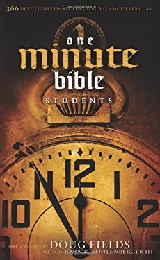 One Minute Bible for Students: 366 Devotions Connecting You with God Every Day 9780805445404