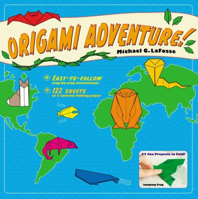 Origami Adventure! [With Book] 9780804837637