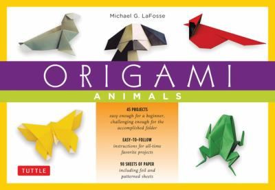 Origami Animals Kit 9780804835275