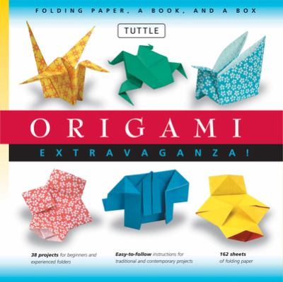 Origami Extravaganza! Kit [With Paper, Box] 9780804832427