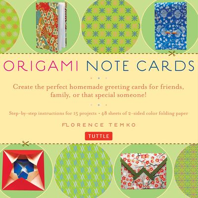 Origami Note Cards 9780804838801
