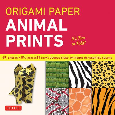 Origami Paper Animal Prints: 49 Sheets 9780804837958