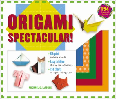 Origami Spectacular! Kit [With Origami Papers 158 CT] 9780804836227