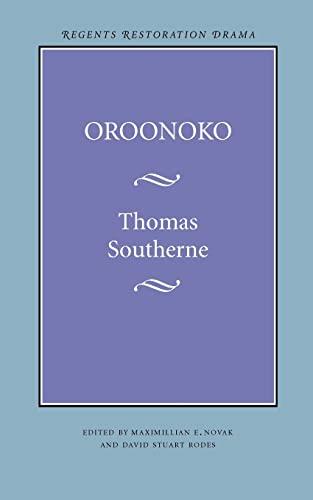 Oroonoko 9780803292925