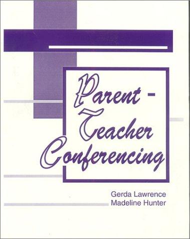 Parent-Teacher Conferencing 9780803963276