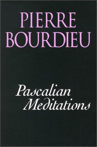 Pascalian Meditations 9780804733328