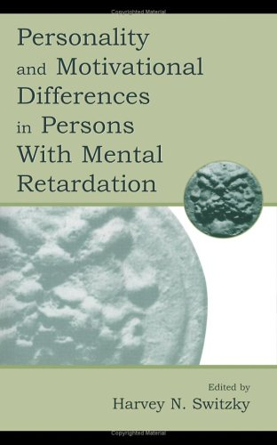 Personality and Motivational Differences in Persons with Mental Retardation 9780805825701