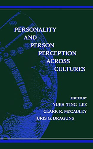 Personality and Person Perception Across Cultures 9780805828139