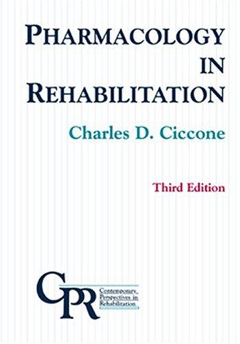 Pharmacology in Rehabilitation 9780803607798