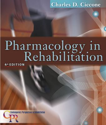 Pharmacology in Rehabilitation 9780803613775