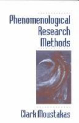 Phenomenological Research Methods 9780803957992