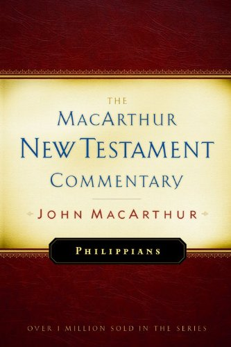 Philippians MacArthur New Testament Commentary 9780802452627