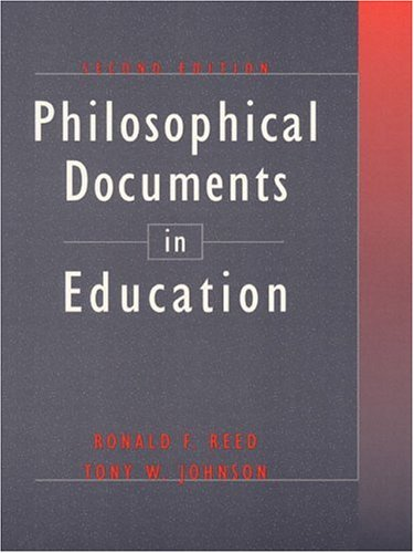 Philosophical Documents in Education 9780801333163