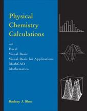 Physical Chemistry Calculations 3292550